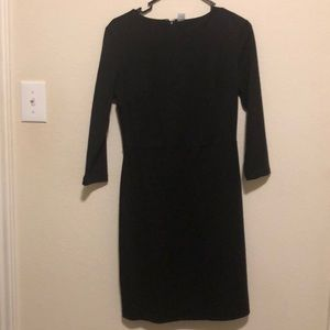 Old Navy Ponte-Knit Sheath  Black Dress
